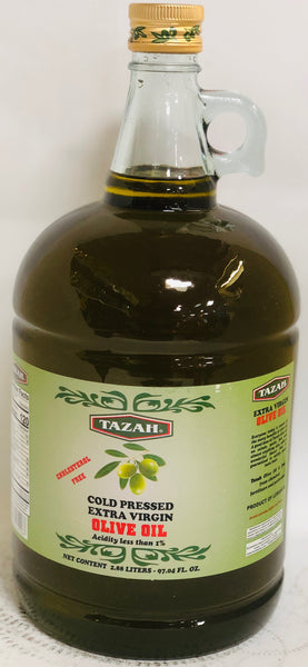 TAZAH COLD PRESSED EXTRA VIRGIN OLIVE OIL