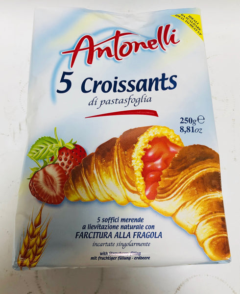 ANTONELLI 5 CROISSANTS - 250 G - STRAWBERRY