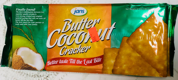 BUTTER COCONUT CRACKER