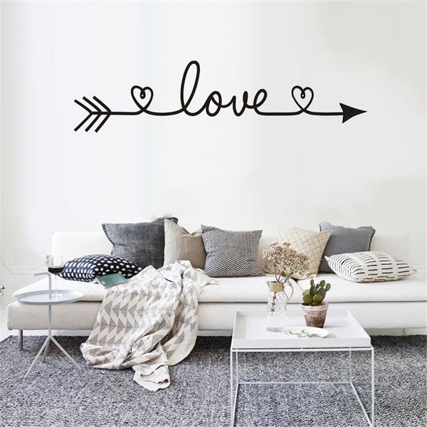 "Family Home Wall Sticker ""LOVE"""