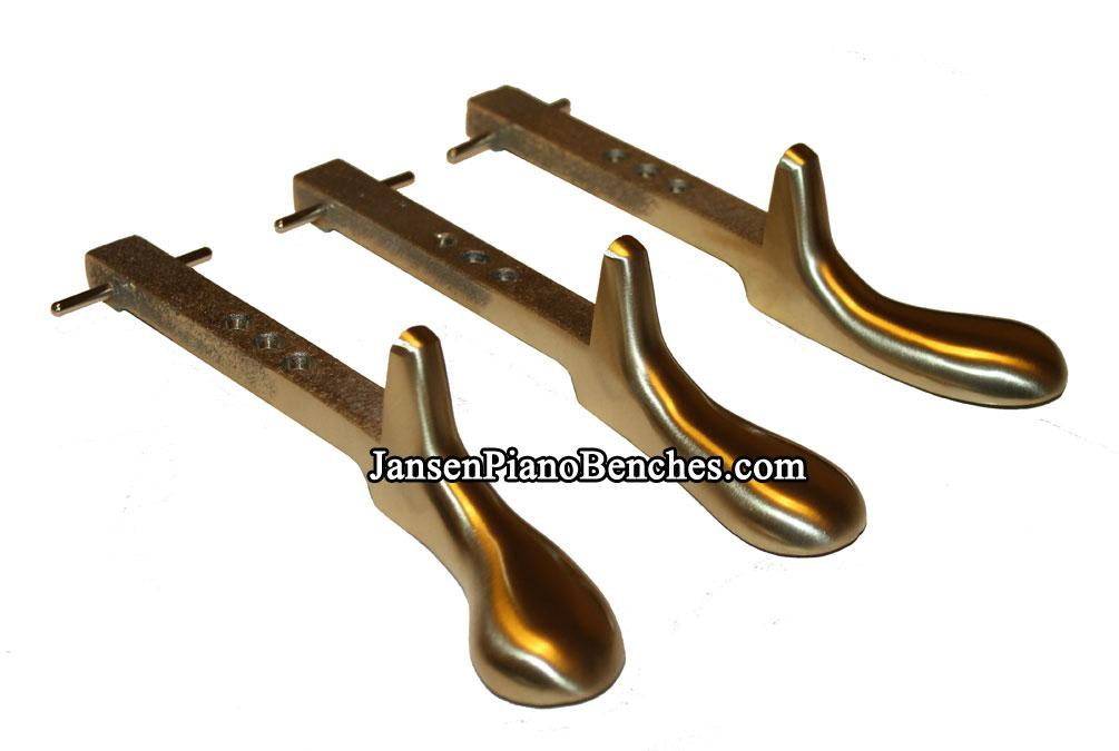 brass piano pedals for grands and uprights