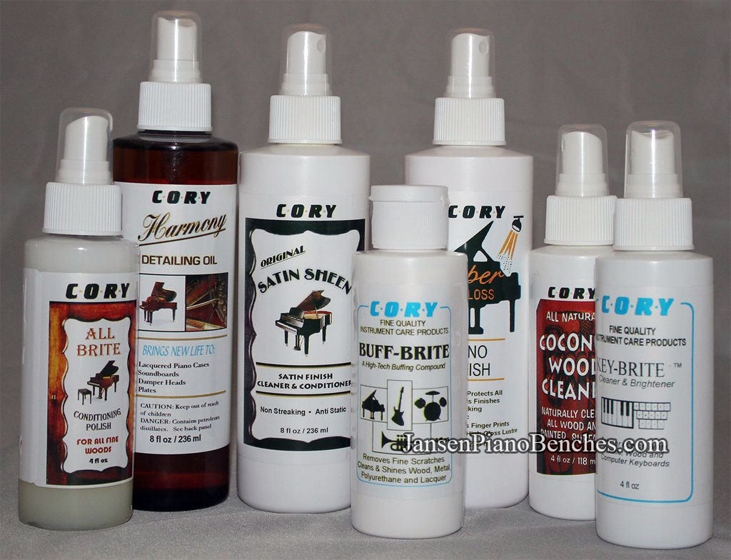 Cory Piano Care Products Polish Cleaner