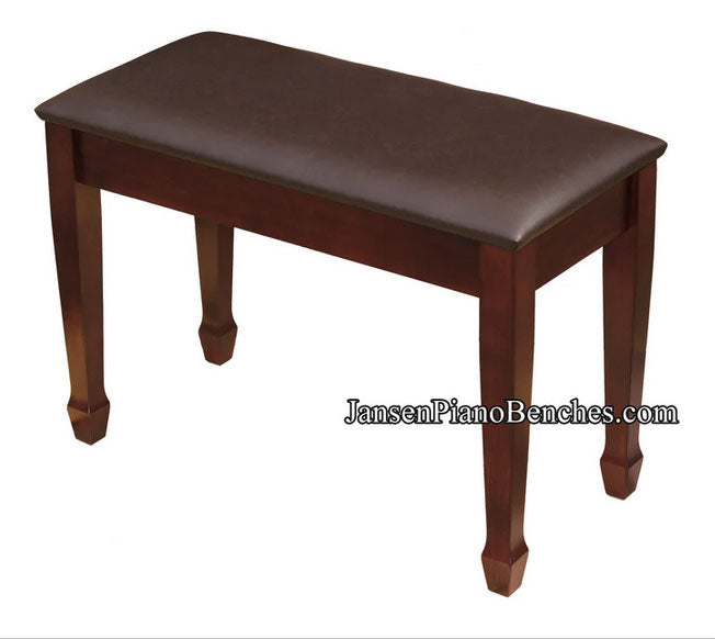 piano bench upholstered top jansen