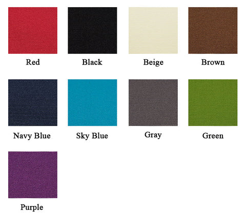 piano bench pad color options