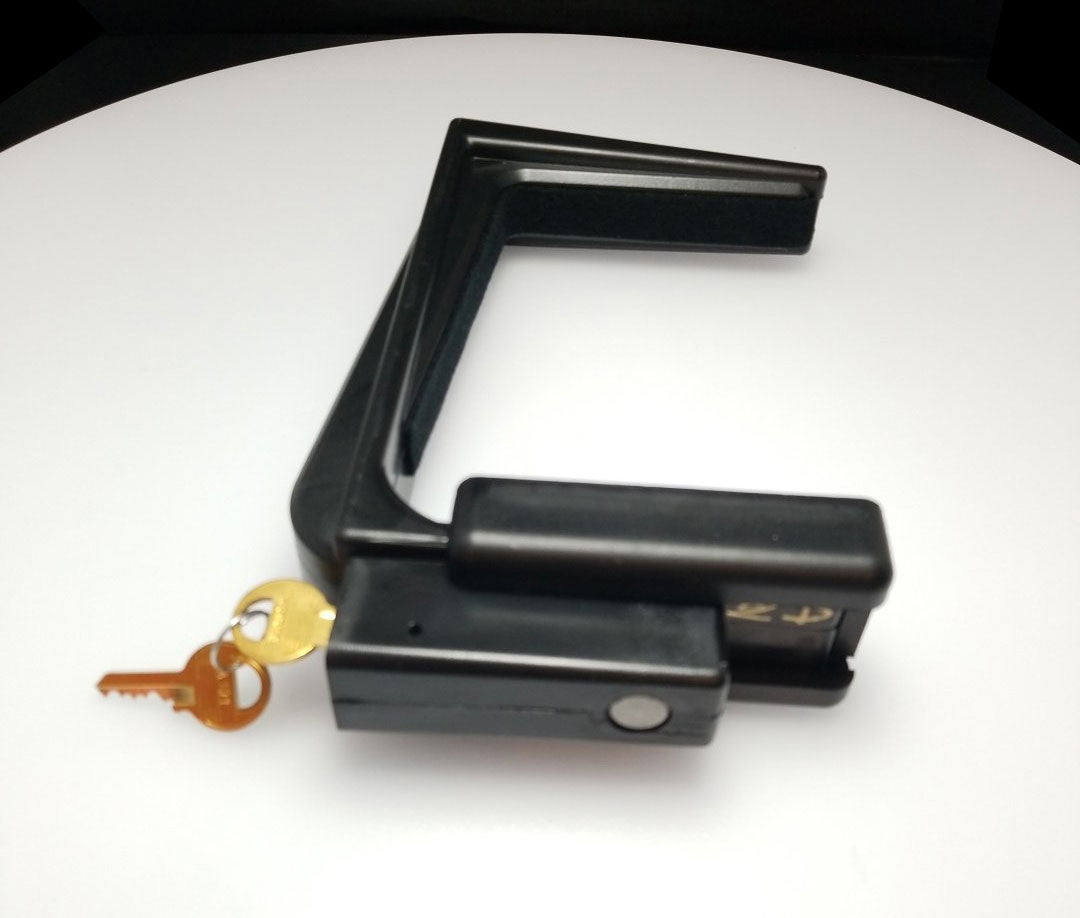 Made of hard Lucite Hands Off Piano Fallboard Lock