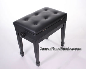 Jansen Imported Black Artist Bench J850
