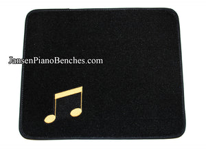 black piano save-a-rug carpet protection under pedals