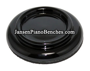 black grand piano caster cups hardwood