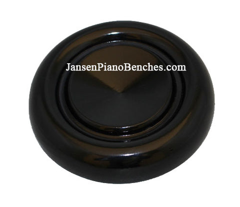 ebony grand piano caster cup