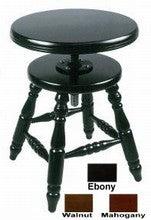 piano stool by Jansen adjustable