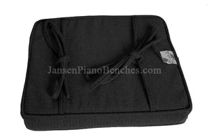 childrens booster cushion for piano bench black