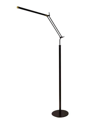 piano floor lamp led cocoweb fled black