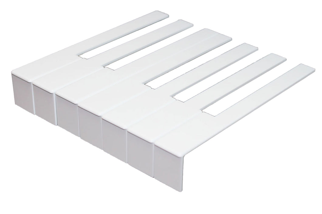 german piano keytops white complete set