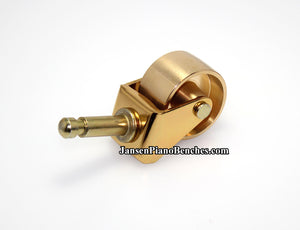 brass grand piano casters model 981