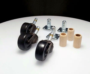 Piano Casters Rubber Wheels