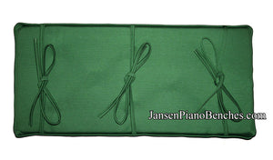green piano bench pad GRK cushion