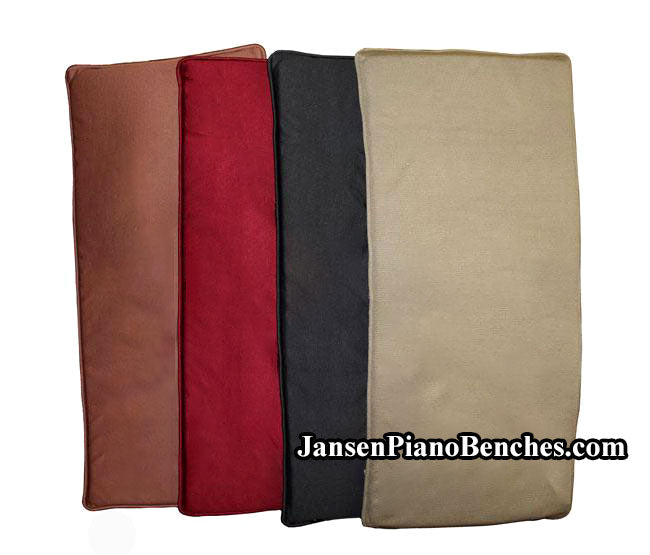 GRK piano bench cushions pads