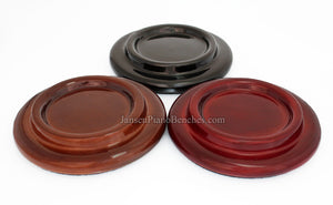 high gloss piano caster cups grand pads