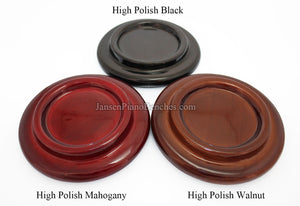 high polish grand piano pads walnut mahogany black