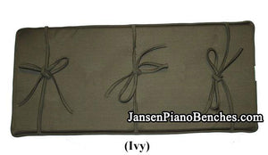 piano bench cushion ivy by GRK