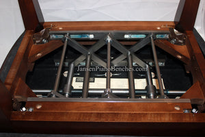 jansen adjustable piano bench mechanism