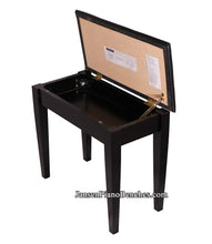 Load image into Gallery viewer, Jansen Keyboard Bench - Satin Black - Open Box