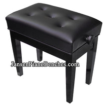Load image into Gallery viewer, Jansen petite artist bench black
