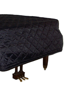 jansen piano cover black quilt nylon