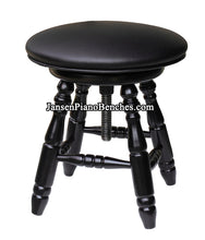 Load image into Gallery viewer, Jansen Piano Stools Upholstered Top J70