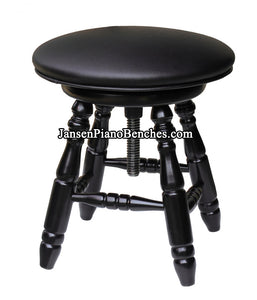 Jansen Piano Stools Upholstered Top J70