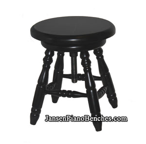 jansen piano stool black ebony j60