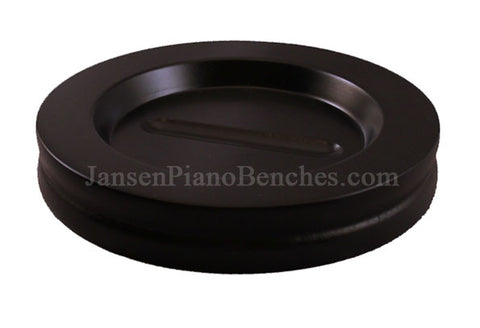 ebony large grand piano caster cup Jansen