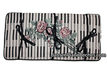 Load image into Gallery viewer, Keyboard Rose Piano bench cushion pad