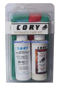 Cory Piano Care Polish Kit for Lacquer Pianos
