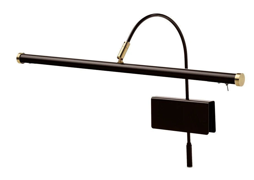 Mahogany Bronze LED Grand Piano Lamp 19
