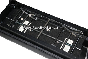 jansen duet petite adjustable piano bench adjustment mechanism
