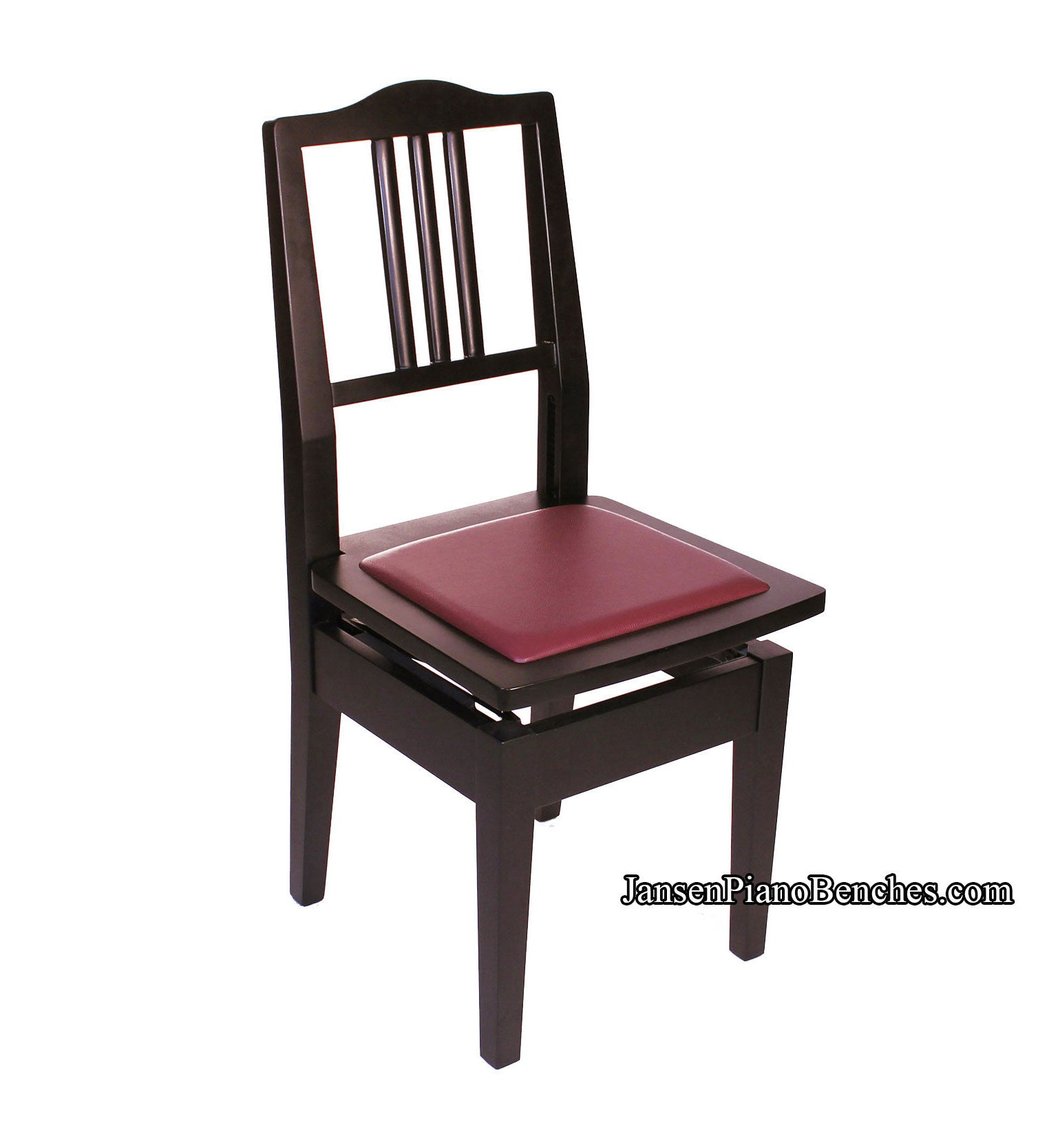 Fabulous Adjustable Piano Chair Wood Back Theyellowbook Wood Chair Design Ideas Theyellowbookinfo