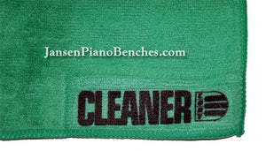 clean your piano with the cory cleaner cloth