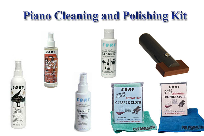 Piano Cleaning and Polish Kit by Cory