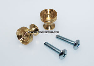 brass piano desk knobs 350D-MS lid knobs