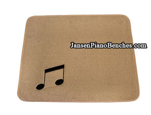 beige piano save a rug carpet protection
