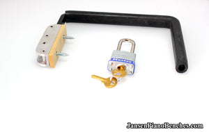 Jaras Piano Lock Fallboard Clamp
