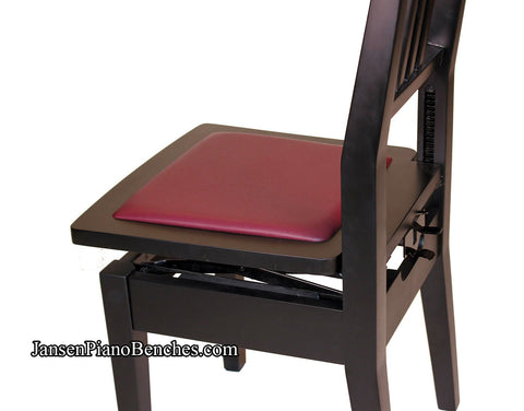 piano chair adjustable height