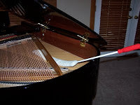piano soundboard cleaner