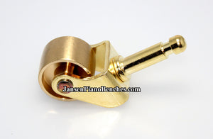 brass piano wheel model 980