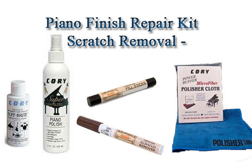 piano finish repair kit and scratch removal