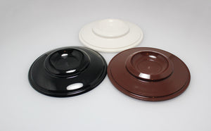 plastic piano caster cups brown black and white color options