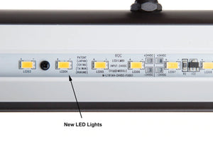 Black LED Piano Lamp PLED100AD
