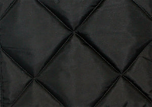 Jansen Grand Piano Cover Quilted Black Nylon