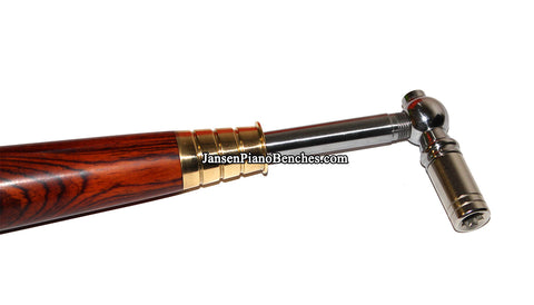 piano tuning lever rosewood handle